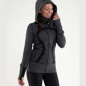 Lululemon Stride Hooded Herringbone Jacket